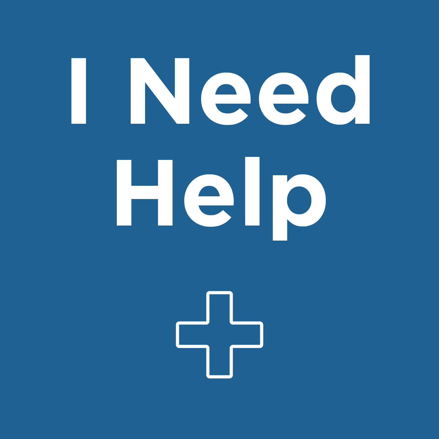 Image for I Need Help